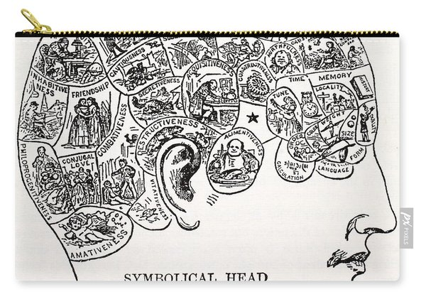 Symbolical Head Carry-all Pouch