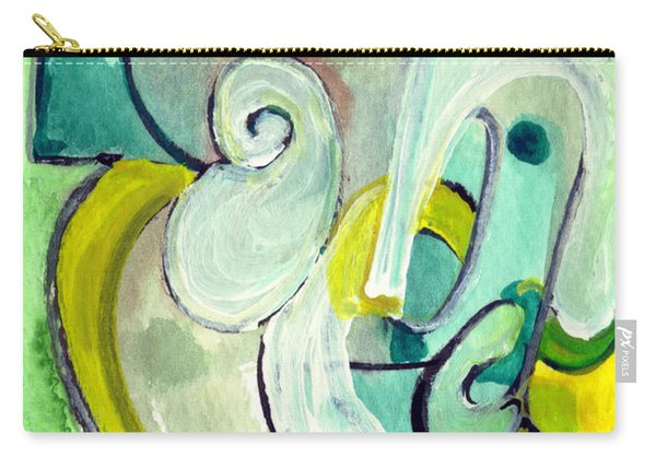 Symphony In Green Carry-all Pouch