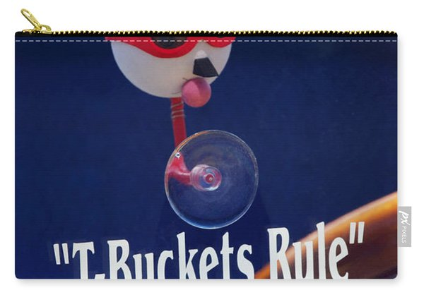 T-buckets Rule Carry-all Pouch