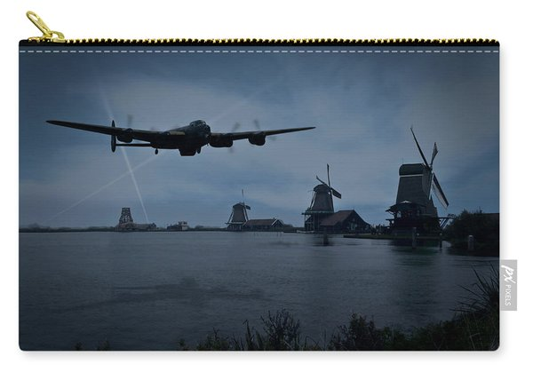 Dambusters Lancaster T For Tommy En Route To The Sorpe Carry-all Pouch