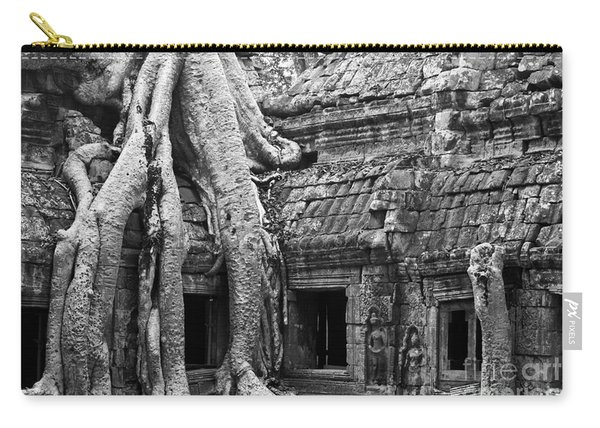 Ta Prohm Roots And Stone 01 Carry-all Pouch