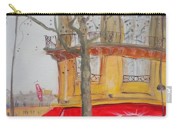 Tabac, 2010 Oil On Canvas Carry-all Pouch
