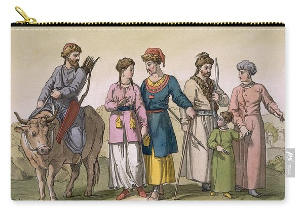 Taguri Tatars Of The Crimea Carry-all Pouch