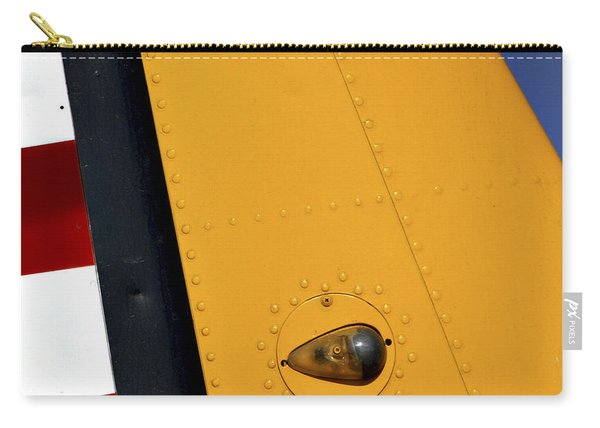 Tail Detail Of Vultee Bt-13 Valiant Carry-all Pouch
