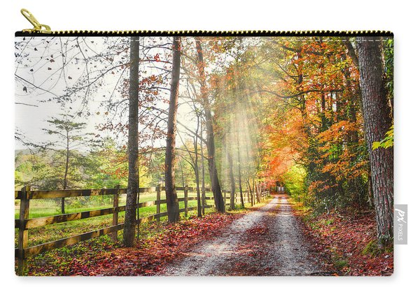Take The Back Roads Carry-all Pouch