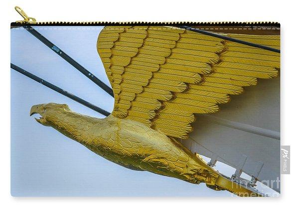 Tall Ship Uscg Barque Eagle Masthead Carry-all Pouch