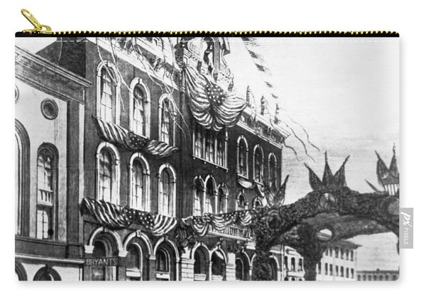 Tammany Hall In 1868 Carry-all Pouch