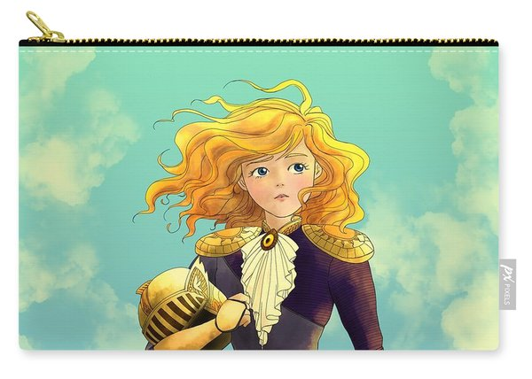 Tammy Wurtherington 1883 Color Portrait Carry-all Pouch
