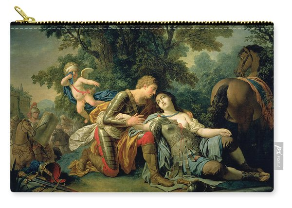 Tancred And Clorinda, 1761 Carry-all Pouch