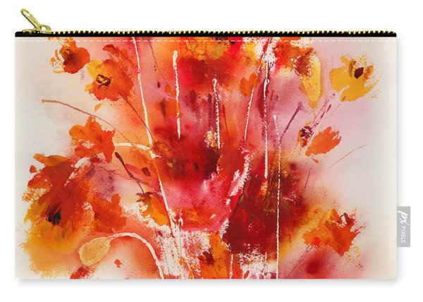 Tangerine Tango Carry-all Pouch