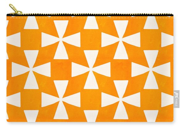 Tangerine Twirl Carry-all Pouch