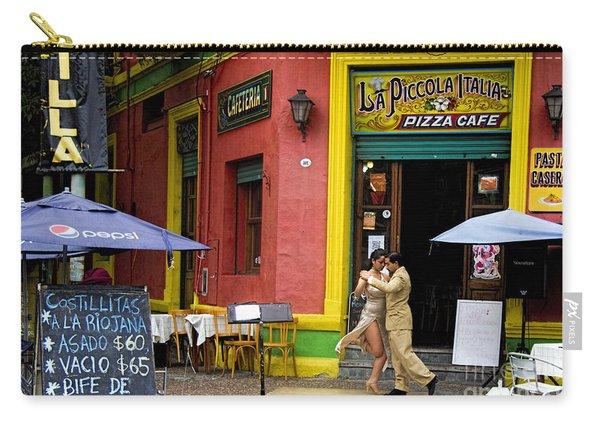 Tango Dancing In La Boca Carry-all Pouch