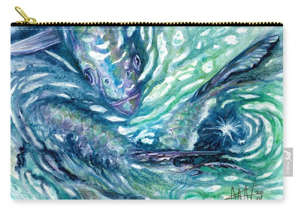 Tarpon Frenzy Carry-all Pouch