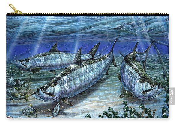 Tarpon In Paradise - Sabalo Carry-all Pouch