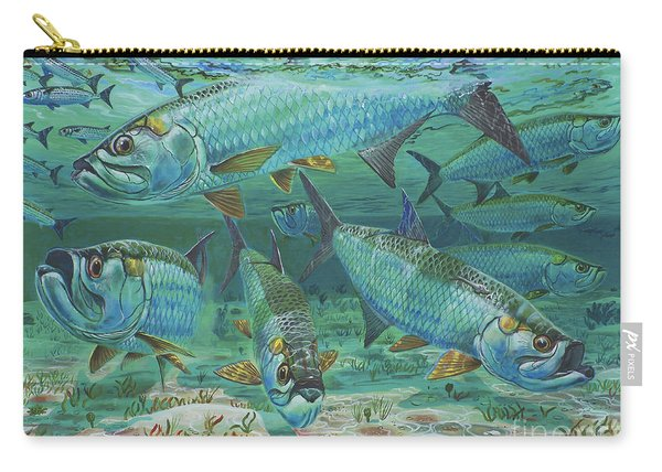 Tarpon Rolling In0025 Carry-all Pouch