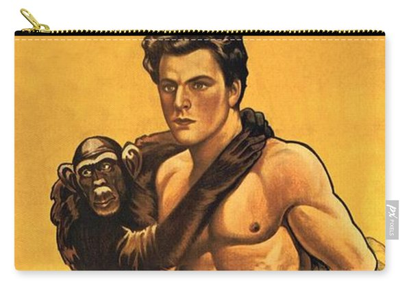 Tarzan The Fearless  Carry-all Pouch