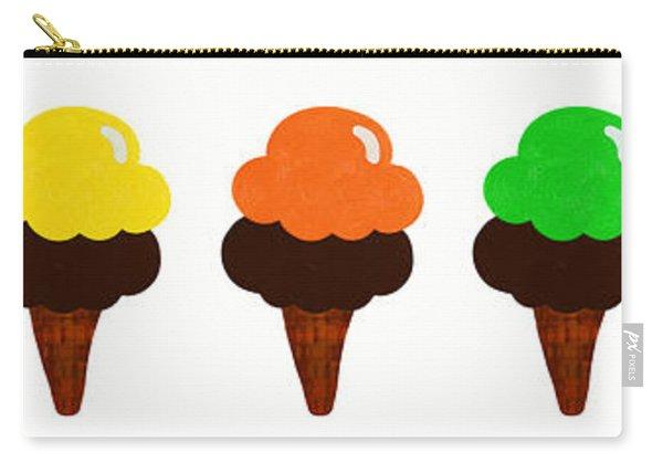 Taste The Ice Cream Rainbow Carry-all Pouch