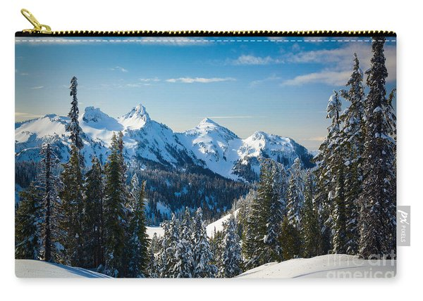 Tatoosh Winter Landscape Carry-all Pouch