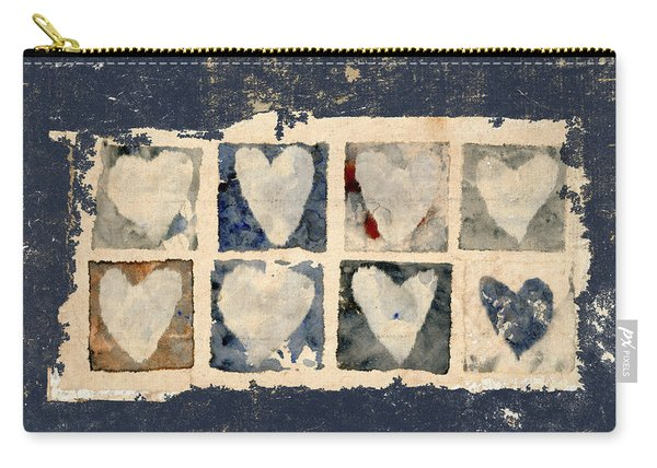 Tattered Hearts Carry-all Pouch