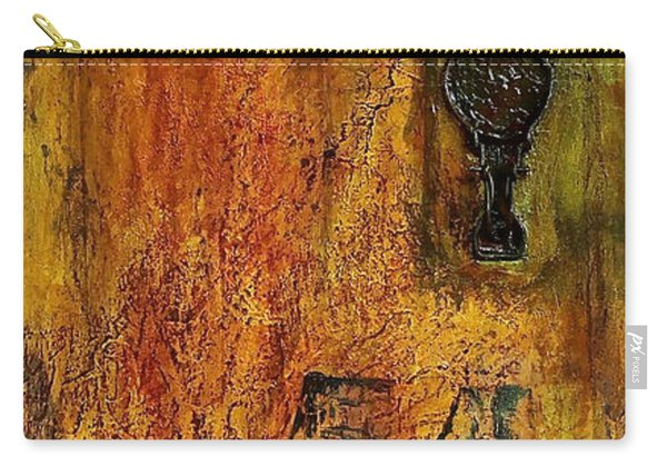 Tattered Wall  Carry-all Pouch