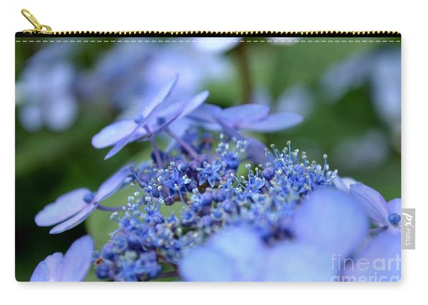 Carry-all Pouch featuring the photograph Taube Lacecap Hydrangea by Scott Lyons