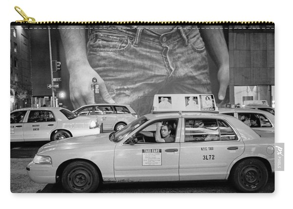 Taxis On Fifth Avenue Carry-all Pouch