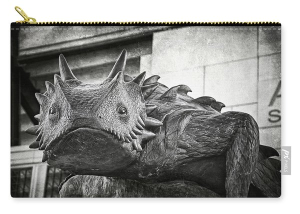 Tcu Horned Frog Bw Carry-all Pouch