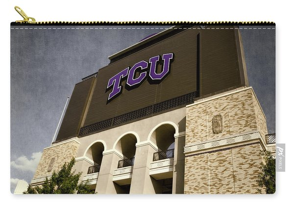 Tcu Stadium Entrance Carry-all Pouch