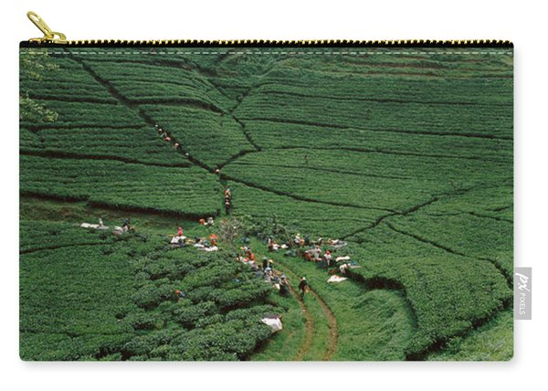 Tea Plantation, Java, Indonesia Carry-all Pouch