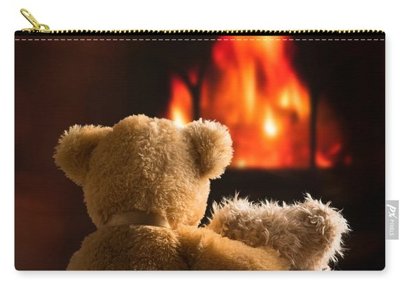 Teddies By The Fire Carry-all Pouch