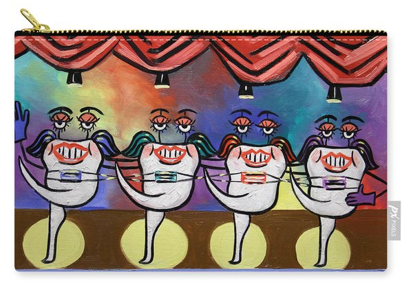 Teeth With Braces Dental Art By Anthony Falbo Carry-all Pouch