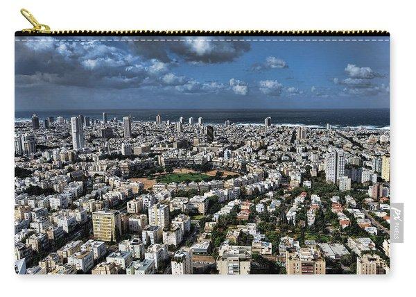 Tel Aviv Center Carry-all Pouch