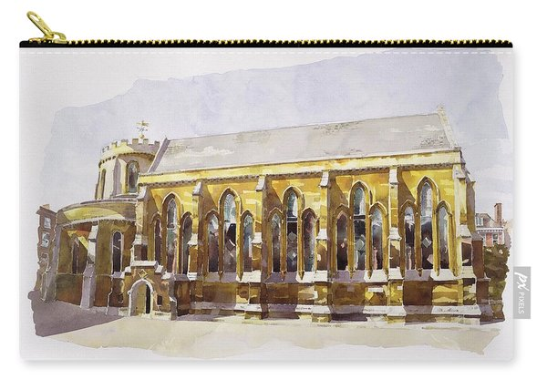 Temple Church Carry-all Pouch