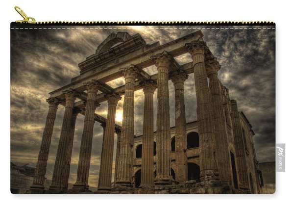 Temple Of Diana Carry-all Pouch
