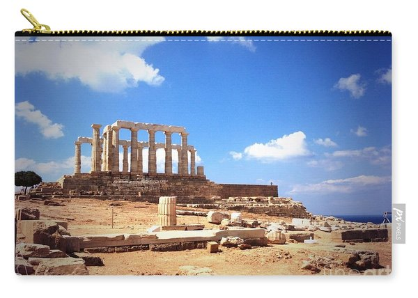 Temple Of Poseidon Vignette Carry-all Pouch
