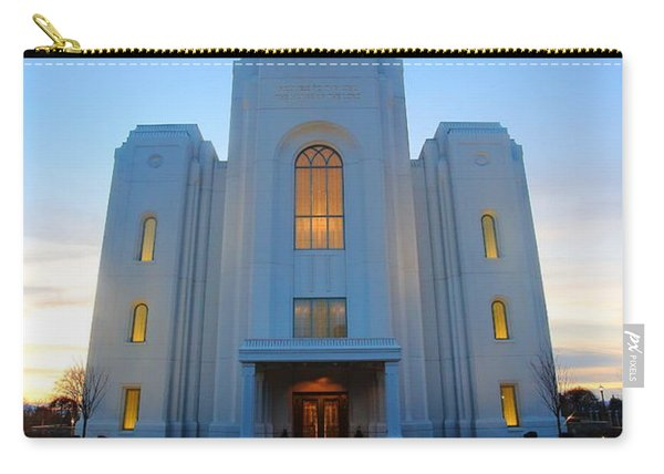 Temple Work Carry-all Pouch
