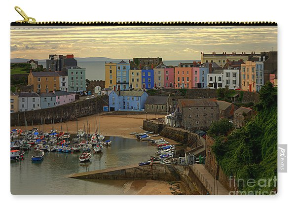 Tenby Harbour In The Morning Carry-all Pouch
