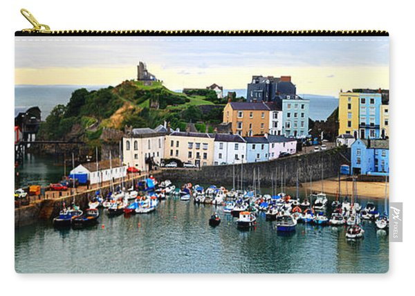 Tenby Harbour Panorama Carry-all Pouch