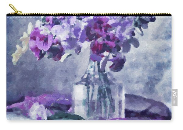 Tender Moments Still Life Carry-all Pouch