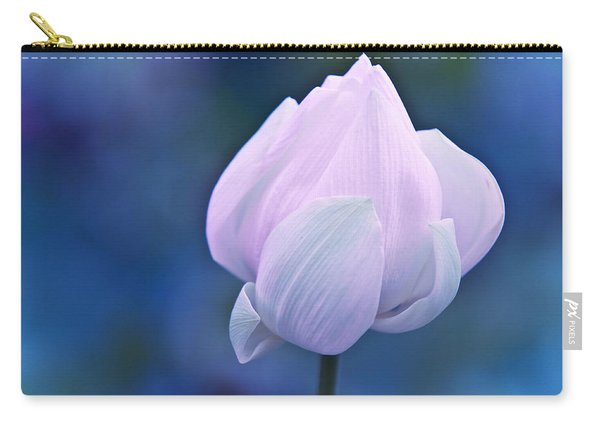 Tender Morning With Lotus Carry-all Pouch