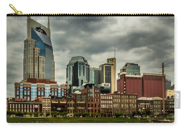 Tennessee - Nashville From Across The Cumberland River Carry-all Pouch