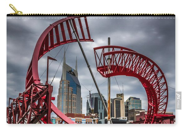 Tennessee - Nashville Through Sculpture Carry-all Pouch