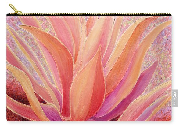 Carry-all Pouch featuring the painting Tequila Sunrise by Sandi Whetzel
