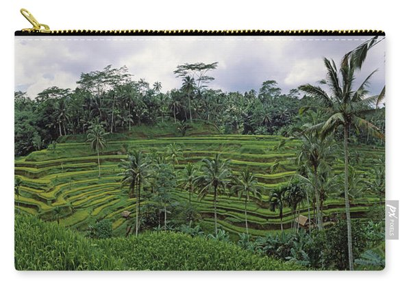 Terraced Rice Field, Bali, Indonesia Carry-all Pouch