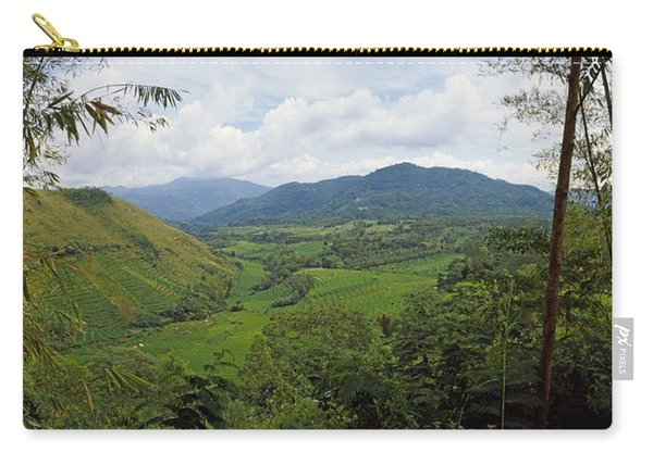 Terraced Rice Field, Flores Island Carry-all Pouch