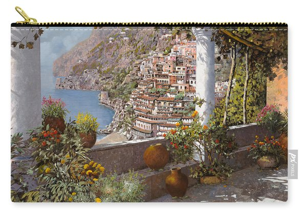 terrazza a Positano Carry-all Pouch