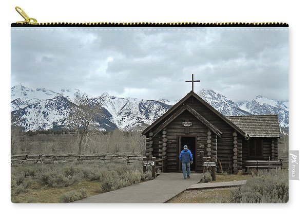 Tetons Chapel Of The Transfiguration Carry-all Pouch