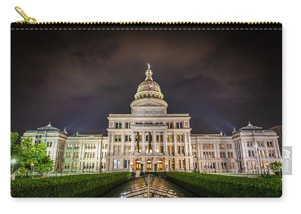 Texas Capitol Building Carry-all Pouch