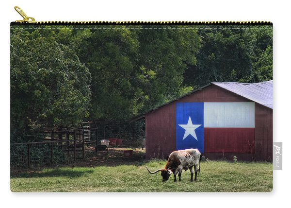 Texas Longhorn Grazing Carry-all Pouch