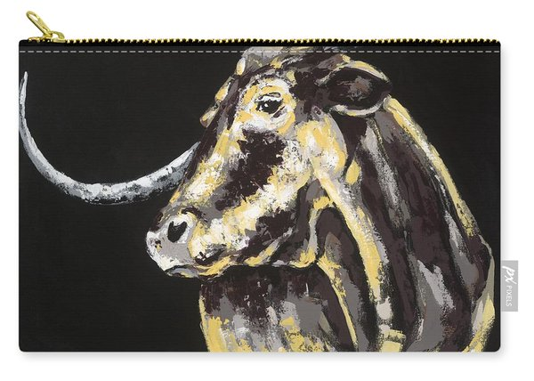 Texas Longhorn Carry-all Pouch